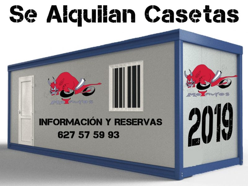 Casetas disponibles para Motauros 2019