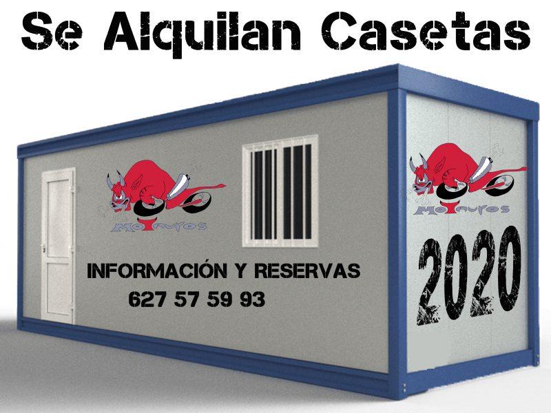 Disponibles casetas para Motauros 2020